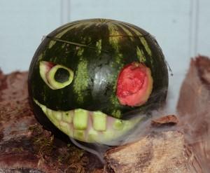 Watermelon Jack o lantern 09