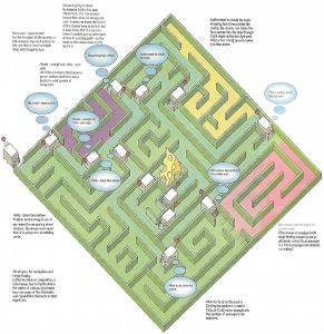 micromouse-maze-cartoon