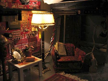 livingroom case mod