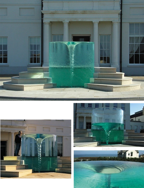 Waterspout fountain