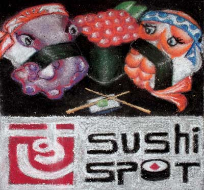 Sushi Spot Pastel - 2010