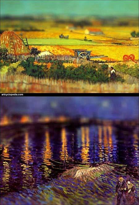 Tilt shift Paintings