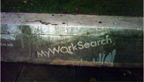 Reverse Graffiti Advertising