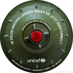 Unicef Sticker - Front