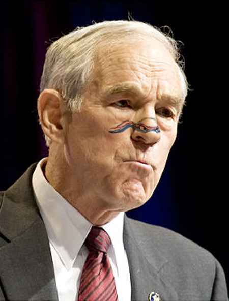Ninja Turtle Nose Ron Paul