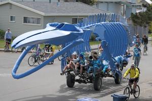 Kinetic whale