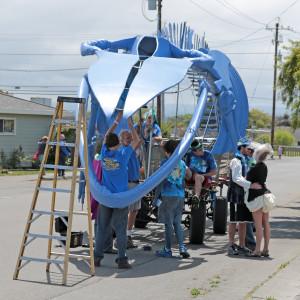 Whale restoration