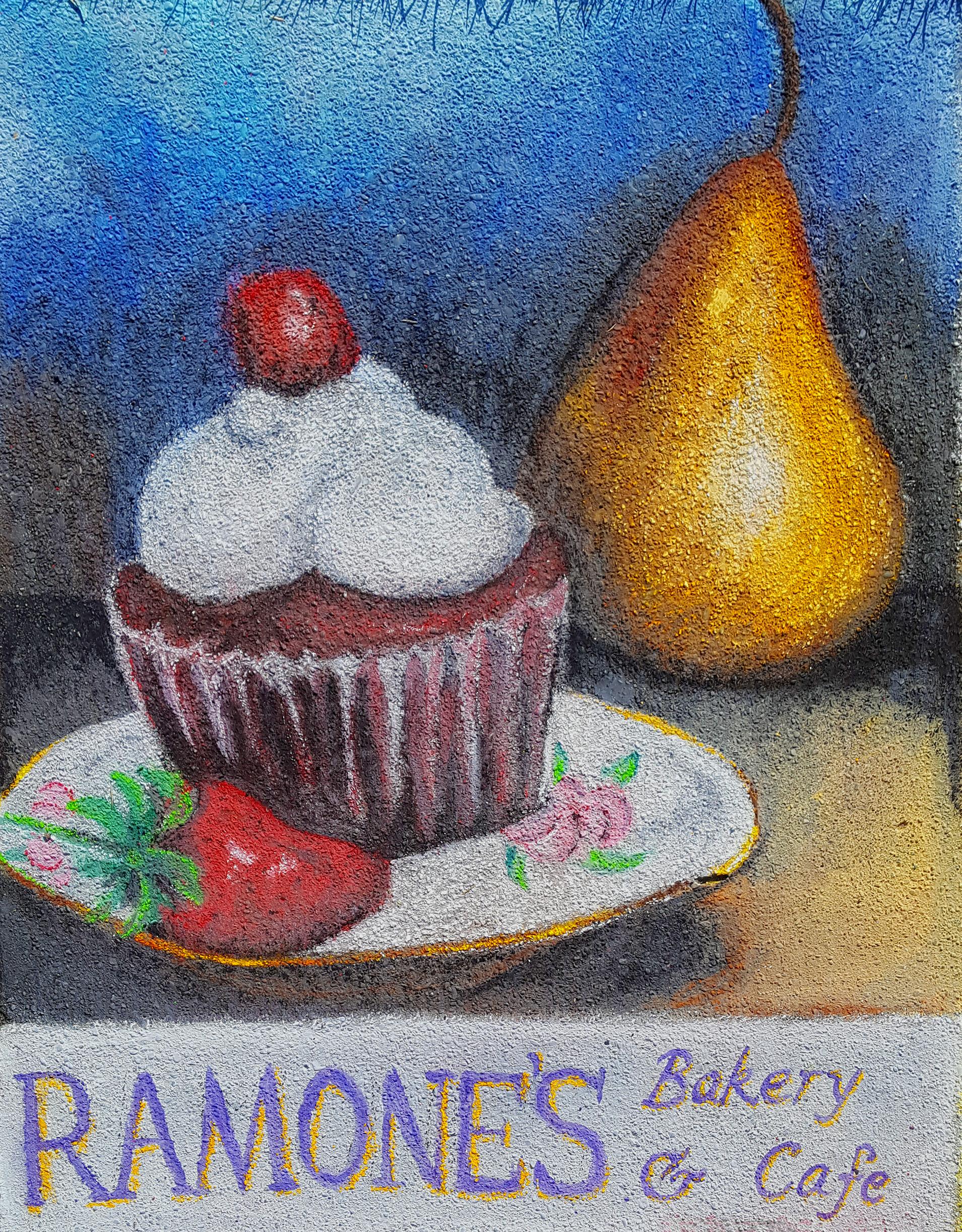 Ramones pastel