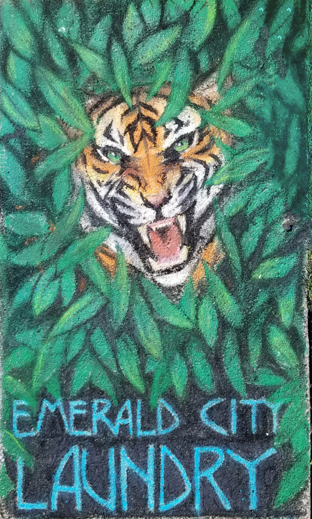 emerald tiger